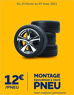 Montage MEV 12€