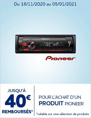 Jusque 40euros sur Pioneer