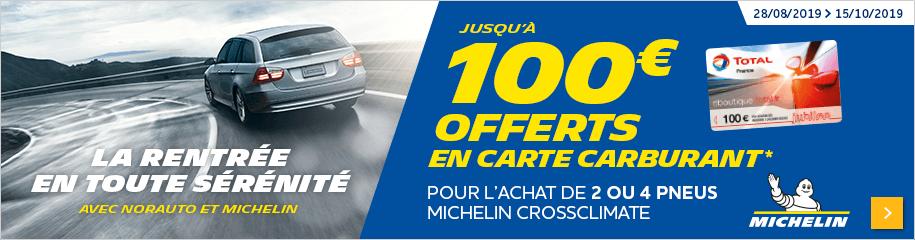 Op Michelin Rentrée carte carburant