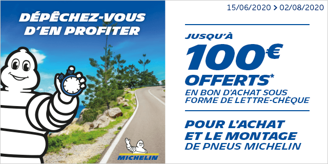 Op nat Michelin Juin 2020