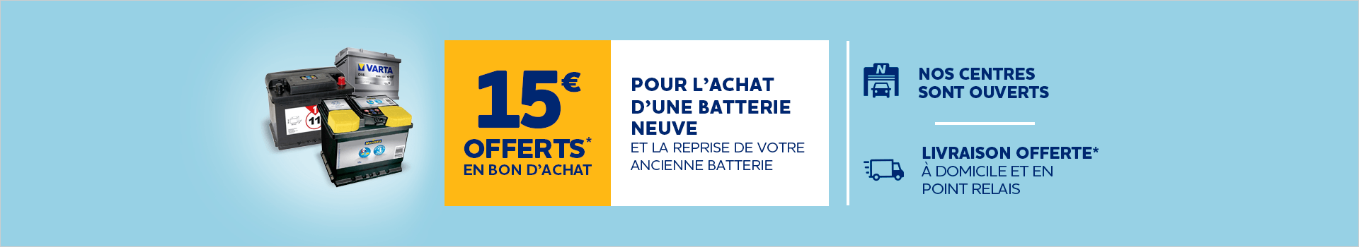 MEA Batterie + services Covid