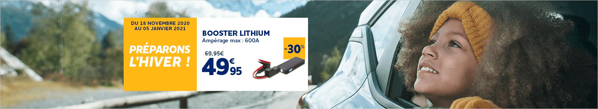 Booster lithium 12Ah 12V