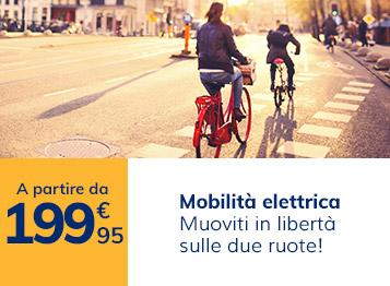Mobilità elettrica: muoviti in libertà sulle due ruote!