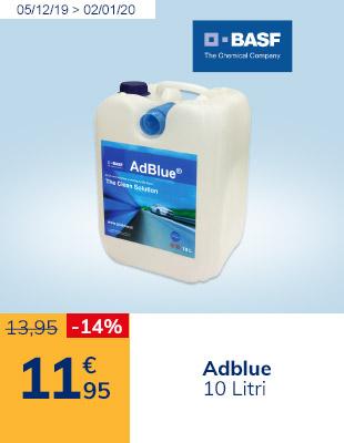 Adblue 10 litri a 11,95€