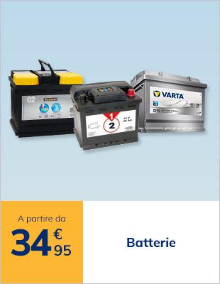 Batterie Norauto a partire da 56,95€