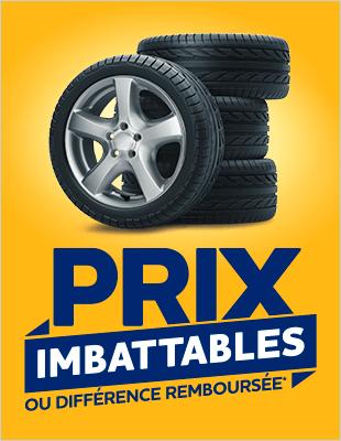 Prix imbattables pneus*