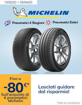 Michelin fino al -80€*