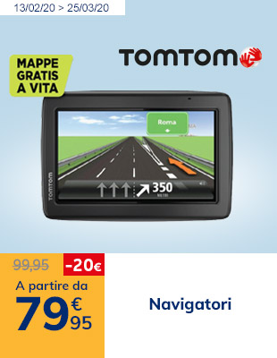 Navigatori a partire da 79,95€