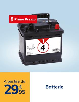 Batteria a partire da 29€95