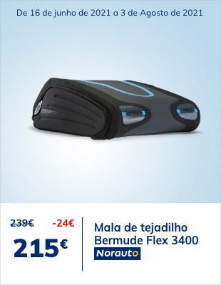 Poupe 24€ na mala de tejadilho Bermude Flex 3400