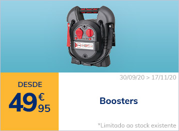 Boosters desde 49.95€