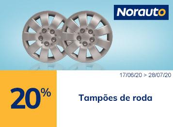 20% Tampões de roda Norauto