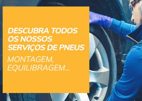Serviços de pneus