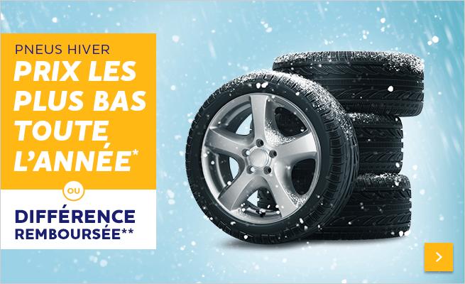 Prix les plus bas sur les pneus hiver *