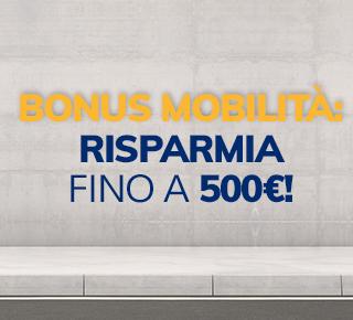 Bonus mobilità : Risparmia fino a 500€
