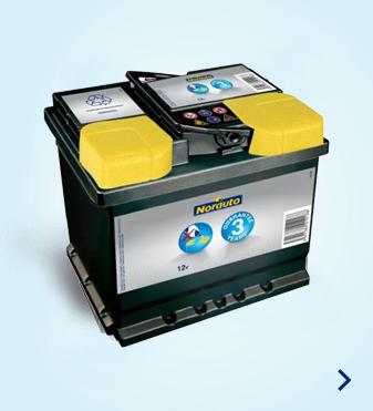 Baterias de viaturas