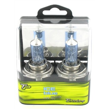 2 Ampoules Tuning Power H4 Iceblue 55 W 12 V