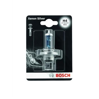 2 Ampoules Bosch H4 Xenon Silver 12 V