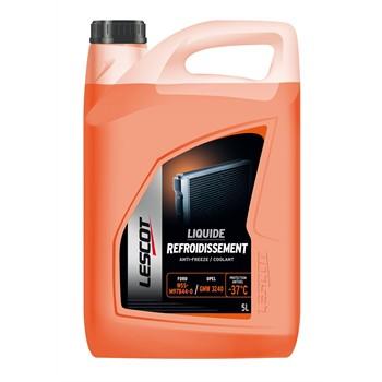 Liquide de refroidissement orange -37°C LESCOT 5 L