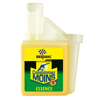 Additif « Consommez moins > Essence BARDAHL 500 ml