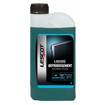 Liquide de refroidissement vert -37°C LESCOT 1 L