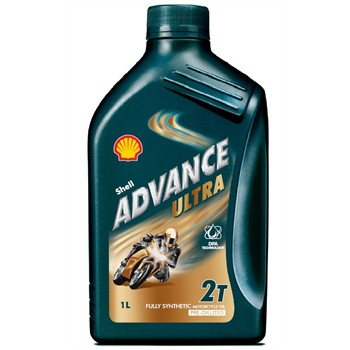 Huile 2T 2 roues SHELL Advance Ultra 1L