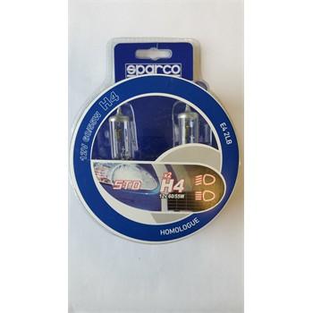 2 Ampoules Sparco Corsa H4 60/55 W 12 V