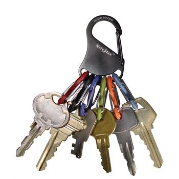 Porte-clés Malin 6 Mousquetons Nite Ize