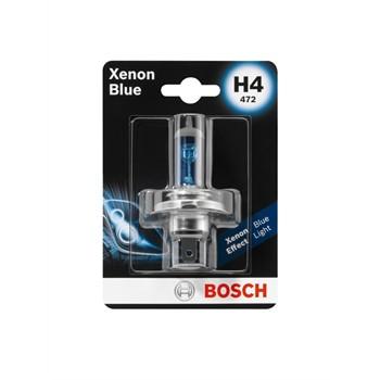 1 Ampoule Bosch H4 Xenon Blue 12 V