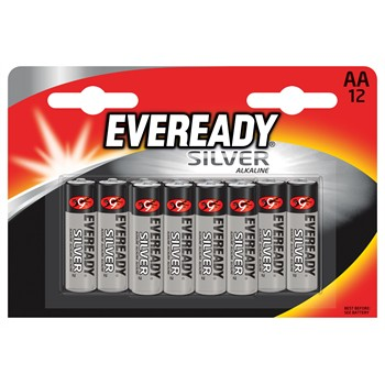 12 piles AA/LR6 EVEREADY Silver Alkaline