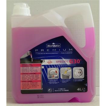 Liquide de refroidissement -30°C G30 NORAUTO PREMIUM 4 L