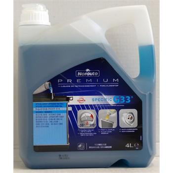 Liquide de refroidissement -35°C G33 NORAUTO PREMIUM 4 L