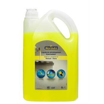 Liquide de refroidissement jaune -25°C NORAUTO 5 L