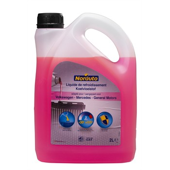 Liquide De Refroidissement Rose -30°c Norauto 2 L