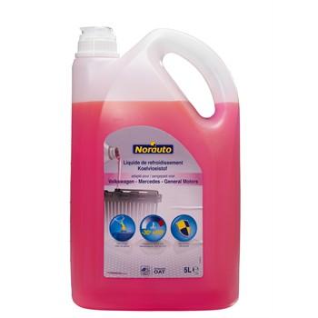 Liquide De Refroidissement Rose -30°c Norauto 5 L