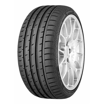 Continental Conti Sportcontact 3 Fr Xl / Fuel Efficiency: E, Wet Grip: B, Ext. Rolling Noise: 73db, Rolling Noise Class: B