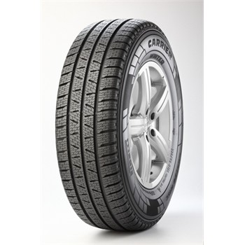 Pirelli Carrier Winter / Fuel Efficiency: C, Wet Grip: C, Ext. Rolling Noise: 73db, Rolling Noise Class: B
