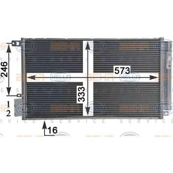 Condenseur HELLA 8FC 351 310-581