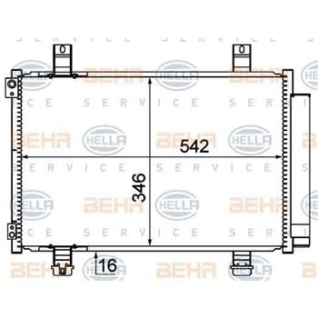 Condenseur HELLA 8FC 351 310-291