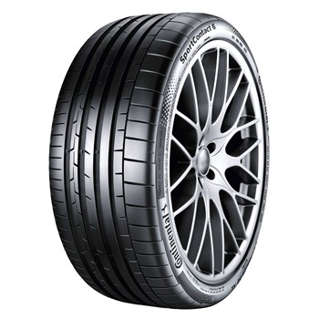 Continental Conti Sportcontact 6 Fr Xl / Fuel Efficiency: E, Wet Grip: A, Ext. Rolling Noise: 72db, Rolling Noise Class: B