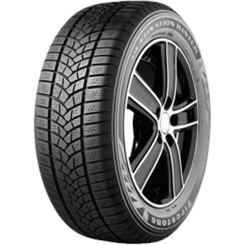 Firestone Destination Winter / Fuel Efficiency: E, Wet Grip: B, Ext. Rolling Noise: 72db, Rolling Noise Class: B