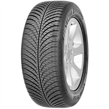 Goodyear Vector 4 Seasons Gen2 / Fuel Efficiency: E, Wet Grip: C, Ext. Rolling Noise: 67db, Rolling Noise Class: A