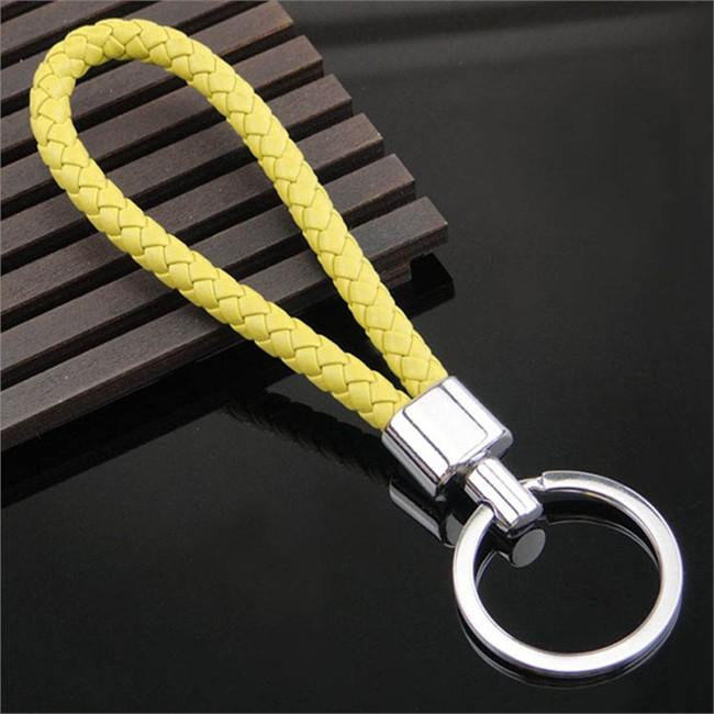 Porte-clés Tresse jaune