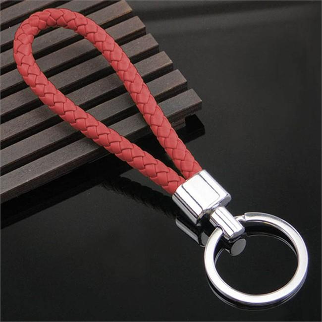 Porte-clés Tresse rouge