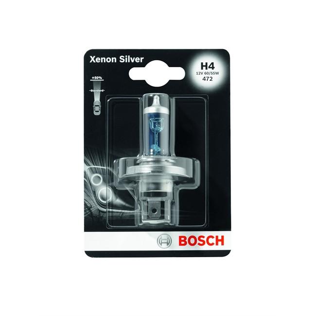 1 Ampoule Bosch H4 Xenon Silver 12 V