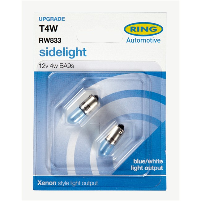 2 Ampoules RING T4W Ice Blue