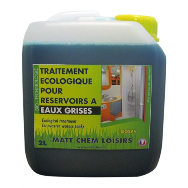 Traitement écologique pour réservoirs à eaux grises MATT CHEM LOISIRS 2 L