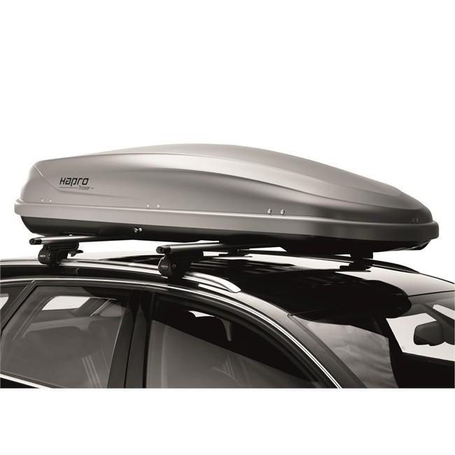 Coffre de toit HAPRO Traxer 8.6 gris 530 L