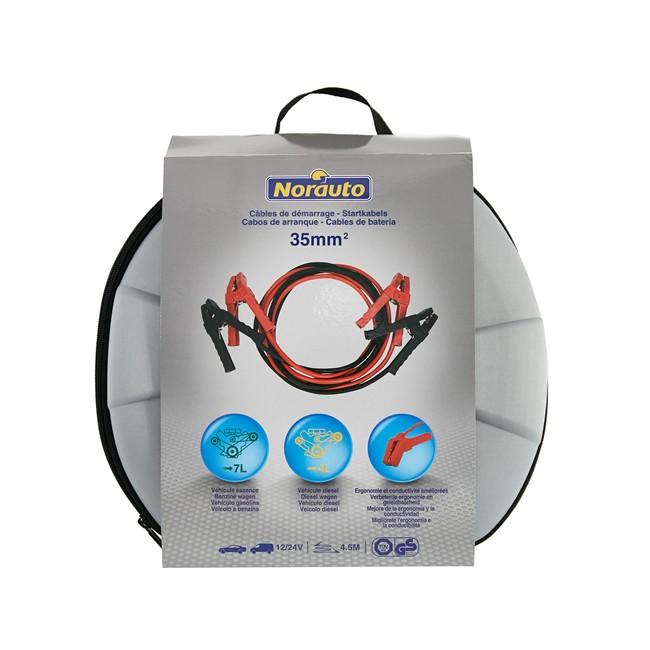 Câbles de démarrage NORAUTO 35 mm² - 4,5 m