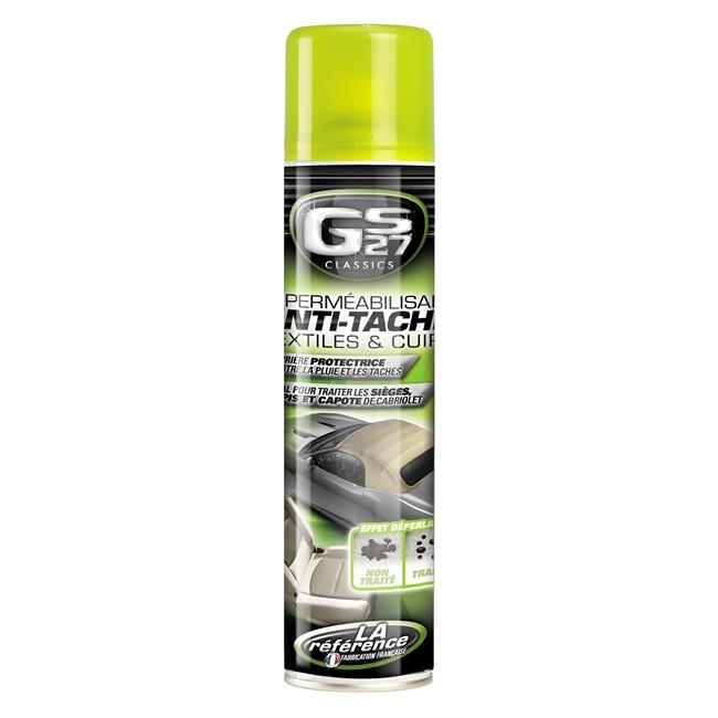 Imperméabilisant anti-taches pour textiles & cuirs GS27 500 ml